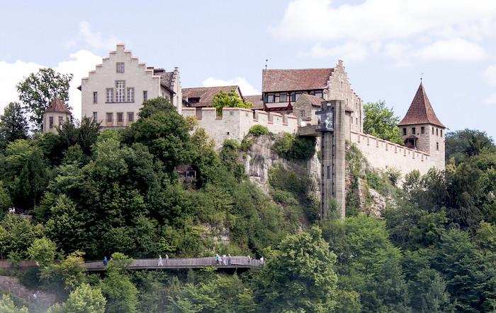 Le cascate del Reno, Schloss Laufen