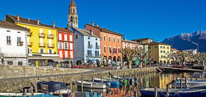 Cosa vedere ad Ascona, veduta lungolago