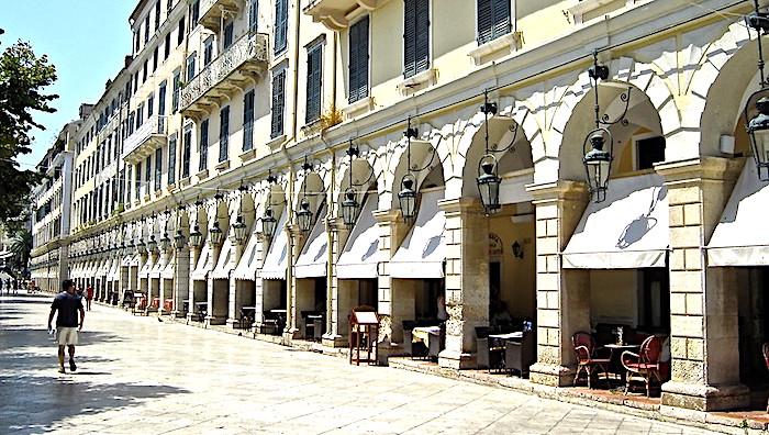 Cosa vedere a Corfù, centro storico