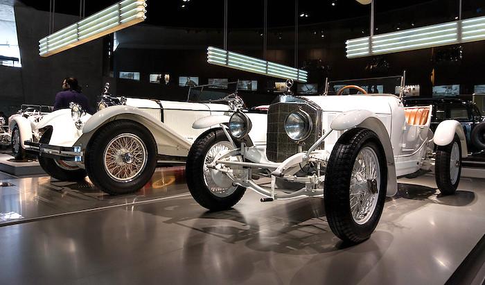 Il Museo Mercedes-Benz Stoccarda, vettura classica