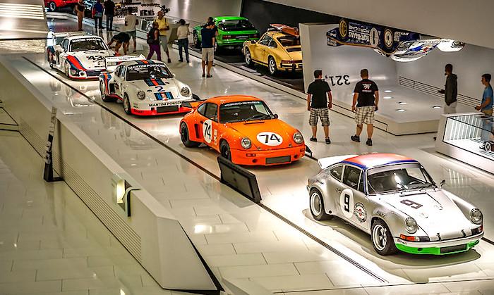 Il Museo Porsche di Stoccarda, esposizione