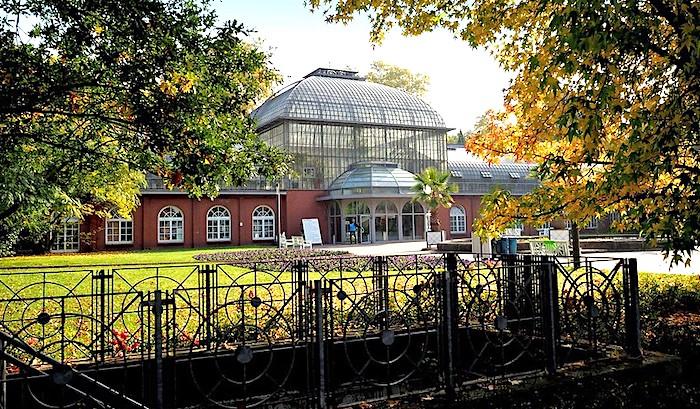 Il Palmengarten di Francoforte, ingresso