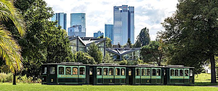 Il Palmengarten di Francoforte, Trenino elettrico