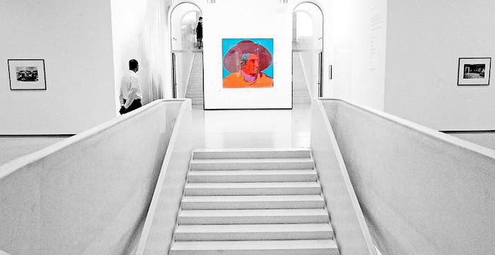 Lo Stadel Museum di Francoforte, esposizione