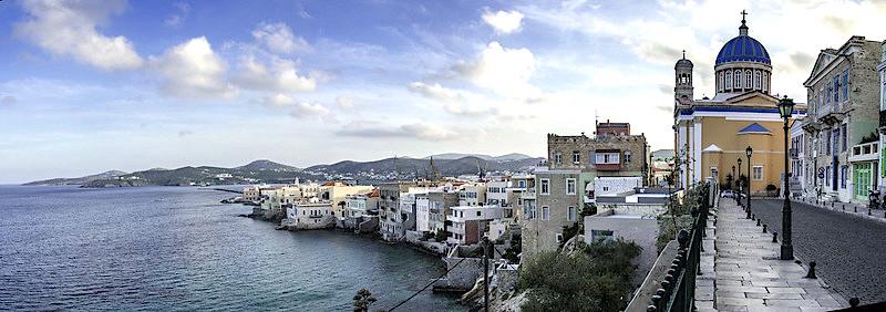 Cosa vedere a Syros, veduta panoramica