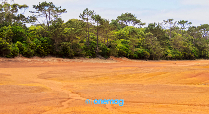 Barreiro da Faneca, Deserto Rosso, Isola di Santa Maria, Azzorre, Portogallo