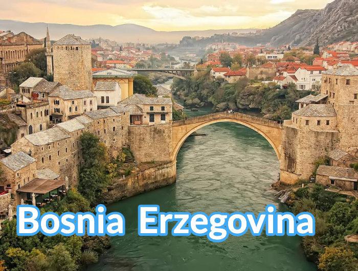 Bosnia Erzegovina Box Europa
