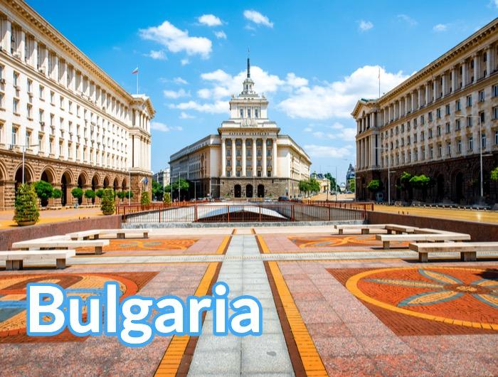 Bulgaria Europa Box