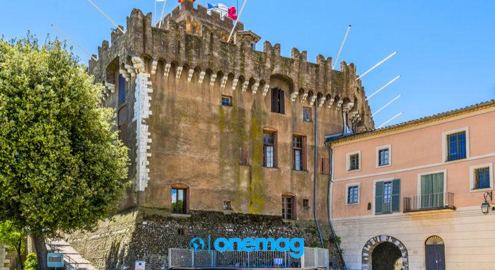 Haut-de-Cagnes, Castello Grimaldi