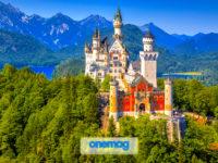 Il castello di Neuschwanstein, Germania
