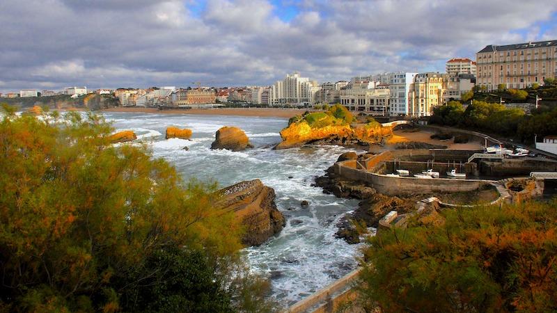 Il centro storico di Biarritz