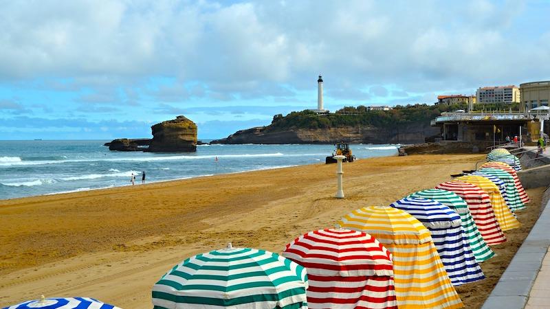 Il mare di Biarritz, Francia