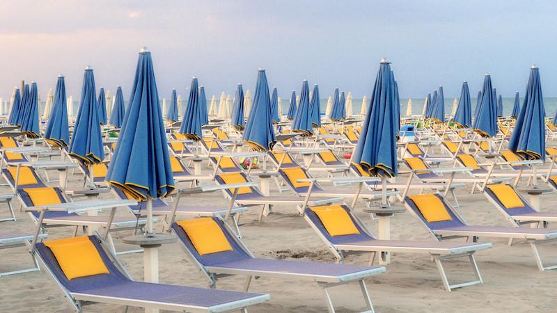 Le spiagge di Milano Marittima