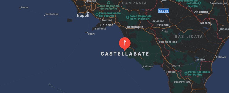 Mappa di Castellabate