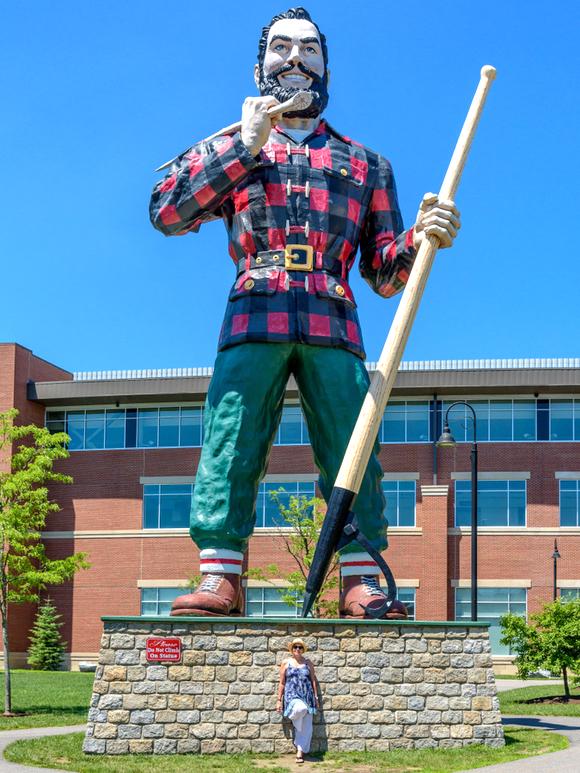 Bangor, Maine, statua di Paul Bunyan