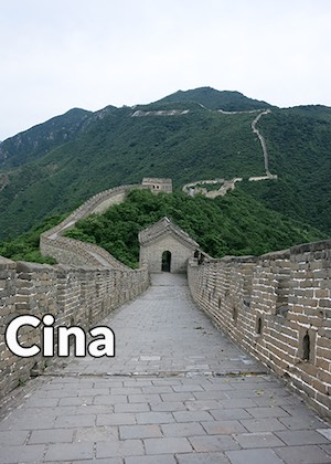 Cina, Asia