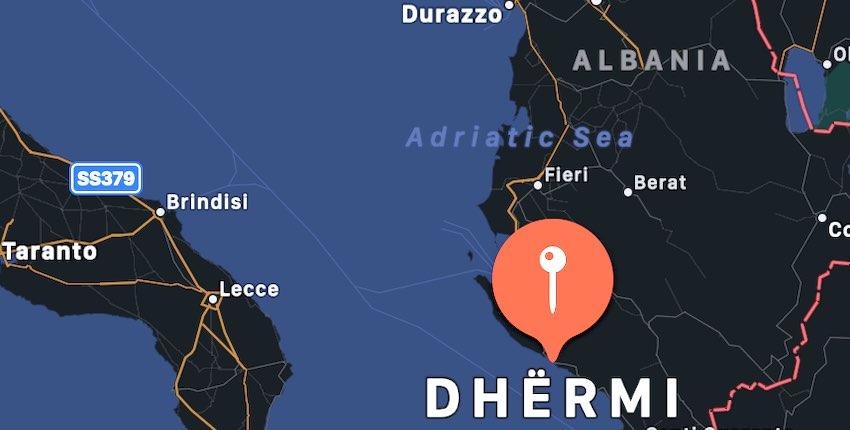 Dhermi, mappa