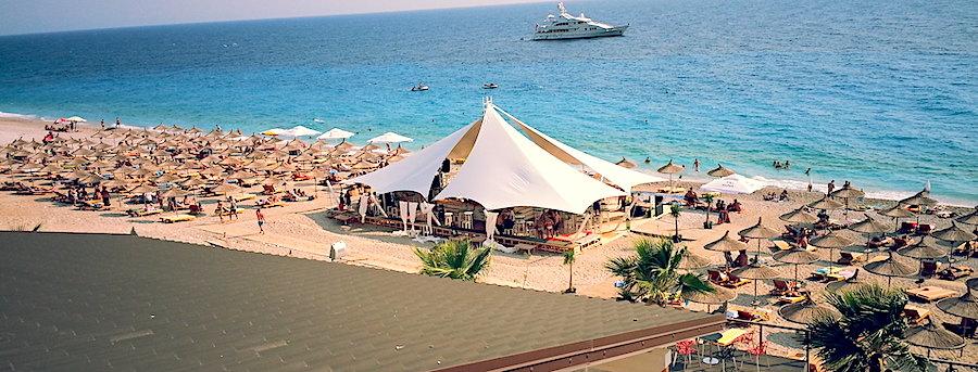 Dhermi, spiaggia