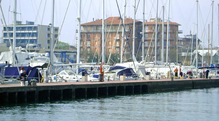 Cosa vedere a Milano Marittima, veduta dal porto