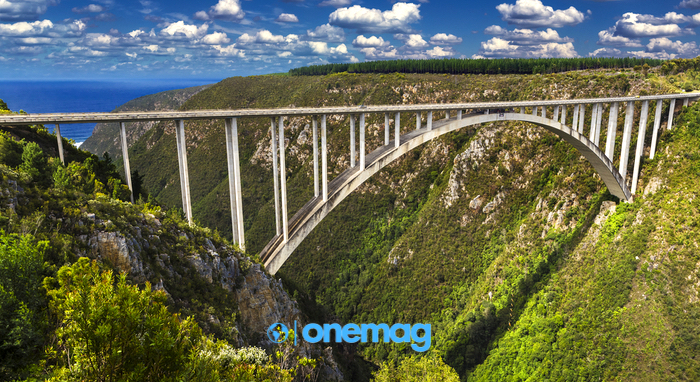 Ponte di Bloukrans, Garden Route - Sudafrica