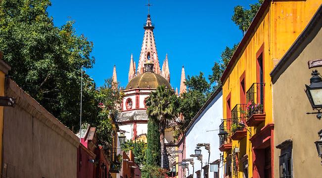 Cosa vedere a San Miguel de Allende, Chiesa di San Miguel Arcangelo