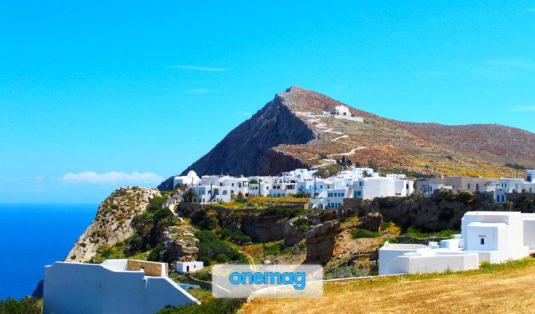 Folegandros, una piccola isola dell'arcipelago delle Cicladi in Grecia