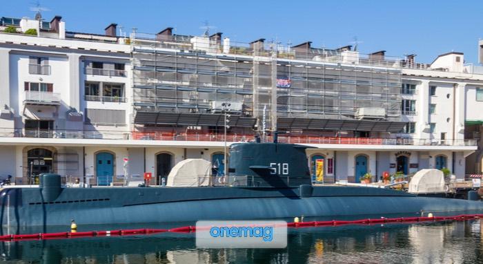 S518 Nazario Sauro, l'unico sottomarino visitabile in mare d'Italia