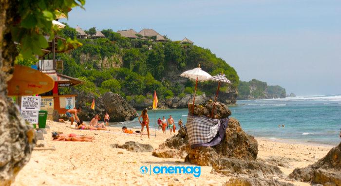 Spiaggia di Bingin, Uluwatu in Indonesia