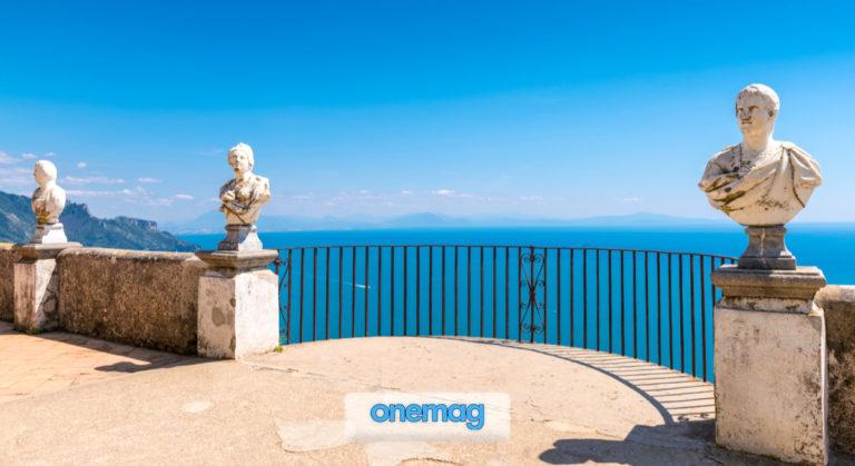 Terrazza dell'Infinito a Villa Cimbrone, Ravello