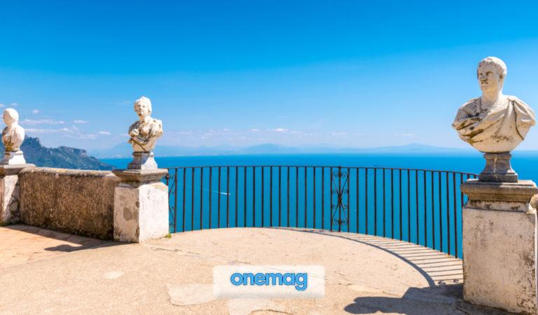 Terrazza dell'Infinito a Villa Cimbrone, Ravello | Il più bel panorama della Costiera Amalfitana