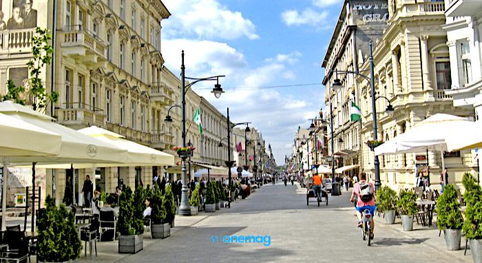 Cosa vedere a Lodz, via Piotrkowska