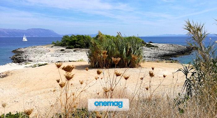 Spiagge di Korčula a nord dell'isola