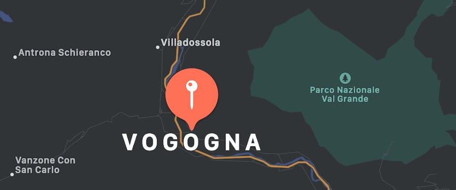 Cosa vedere a Vogogna, mappa