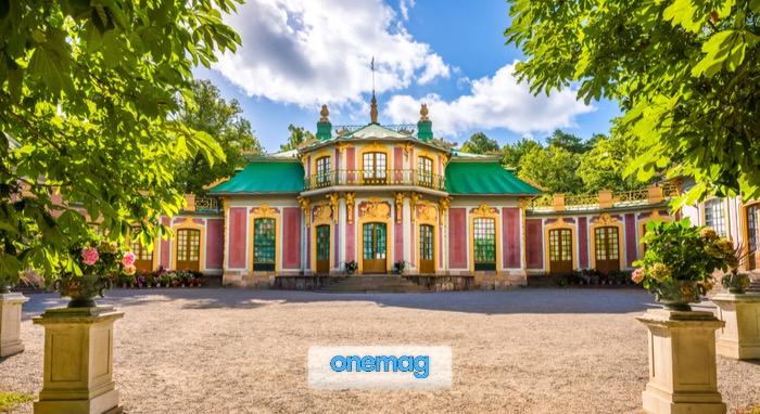 Il Padiglione Cinese vicino al Palazzo di Drottningholm a Stoccolma