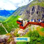 Trollstigen (Strada dei Troll), Norvegia   La scenografica strada nei fiordi norvegesi