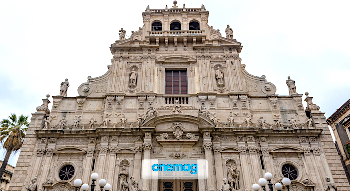 Cosa vedere ad Acireale, Basilica Collegiata di San Sebastiano