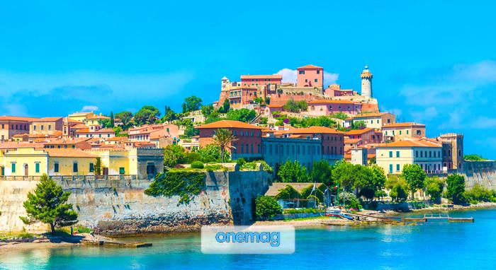 Cosa vedere a Portoferraio, veduta dal mare