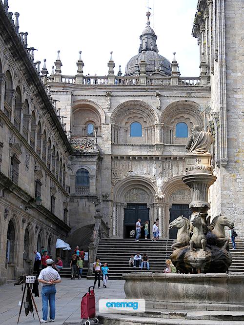 Cosa vedere a Santiago de Compostela, Plaza das Praterias
