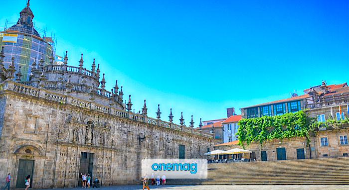Cosa vedere a Santiago de Compostela, Plaza de la Quintana
