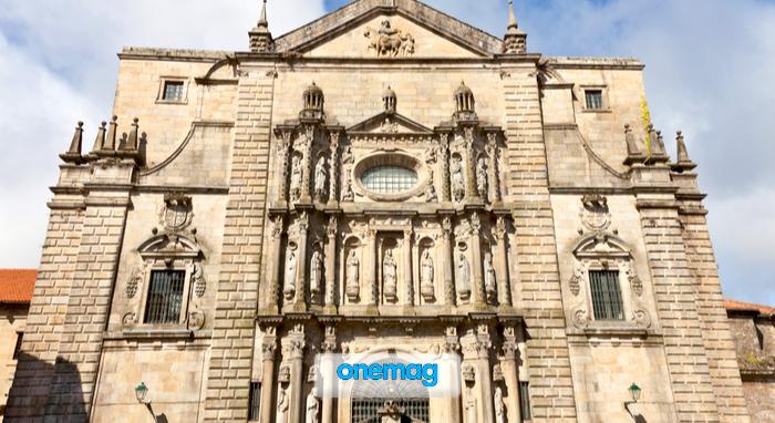 Cosa vedere a Santiago de Compostela, monastero San Martin Pinario