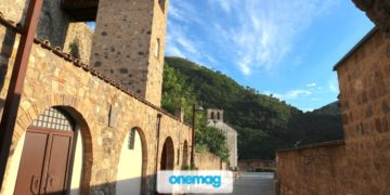 Castello Normanno che domina il borgo di Limatola