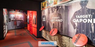 Sala interna del The Mob Museum di Las Vegas